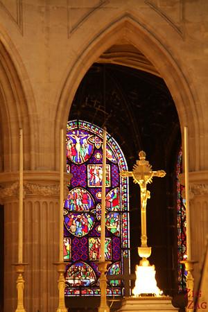 Saint Germain l'Auxerrois church, paris - Stained glass 7
