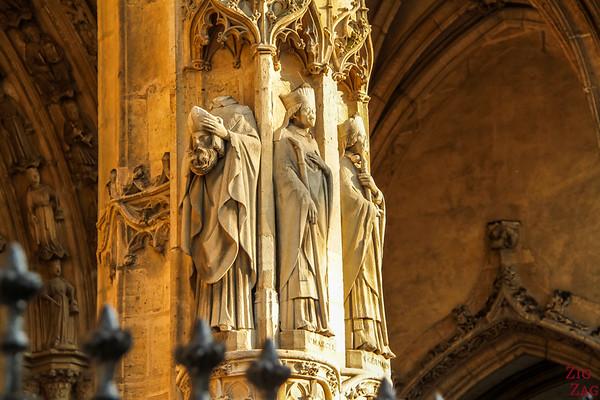 Saint Germain l'Auxerrois church, paris - entrance 1