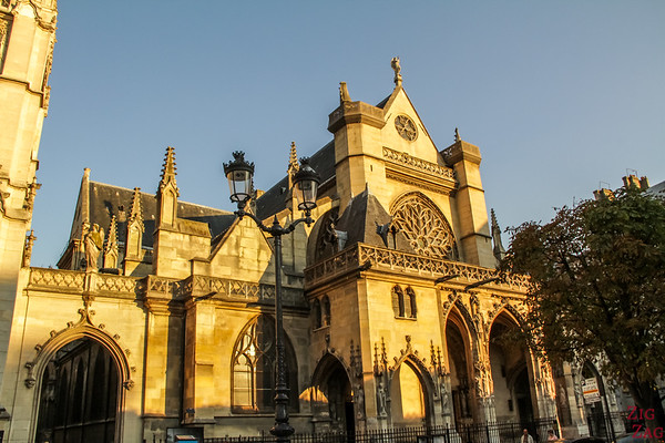 Saint Germain l'Auxerrois church, paris - facade 3