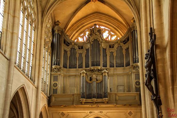Saint Germain l'Auxerrois church, paris - Organ 1