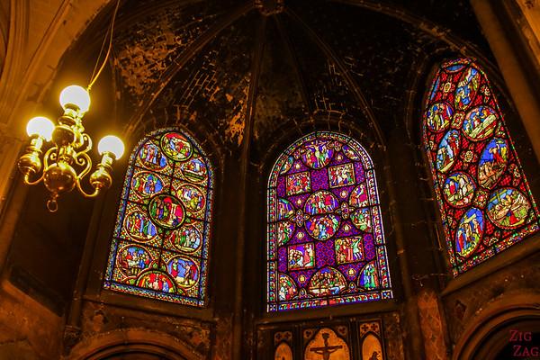 Saint Germain l'Auxerrois church, paris - Stained glass 5