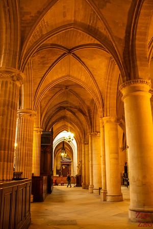 Saint Germain l'Auxerrois church, paris - inside 7