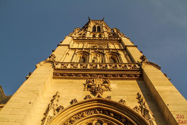 Saint Germain l'Auxerrois church, paris - tower 2