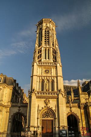 Saint Germain l'Auxerrois church, paris - tower 1