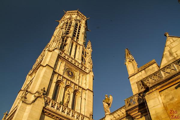 Saint Germain l'Auxerrois church, paris - tower 3