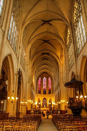 Saint Germain l'Auxerrois church, paris - inside 2