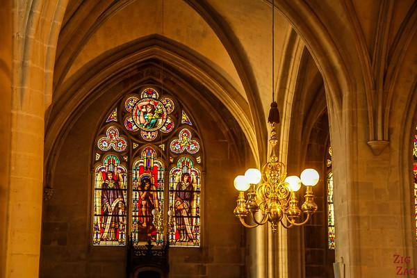 Saint Germain l'Auxerrois church, paris - Stained glass 1