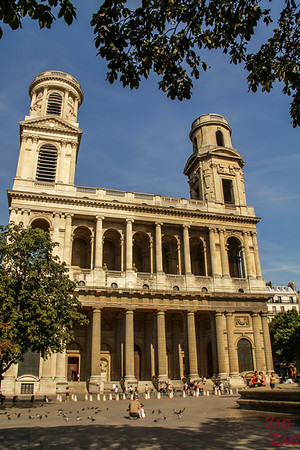 Saint Sulpice church, Paris