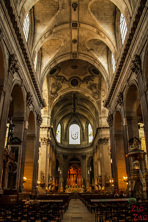 Nave of Saint Sulpice, Paris