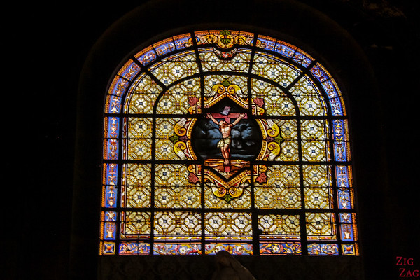 Stained glass of Saint Sulpice, Paris 2