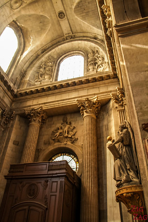 Inside Saint Sulpice, Paris 2