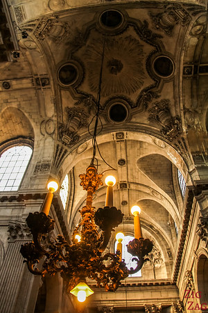 Inside Saint Sulpice, Paris