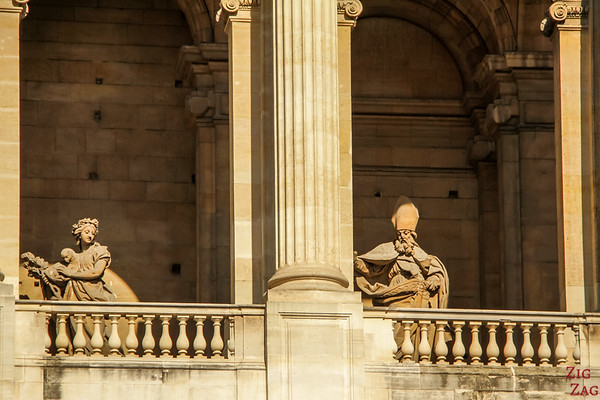 Statues of Saint Sulpice, Paris