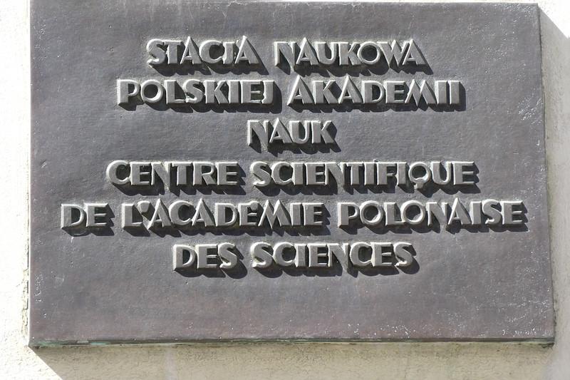 Polish Academy of Science.