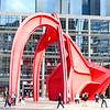 Stabile by Alexander Calder, la Defense