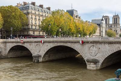 River Seine and Notre-Dame