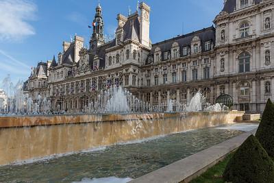 L'hôtel de ville de Paris (Mairie)