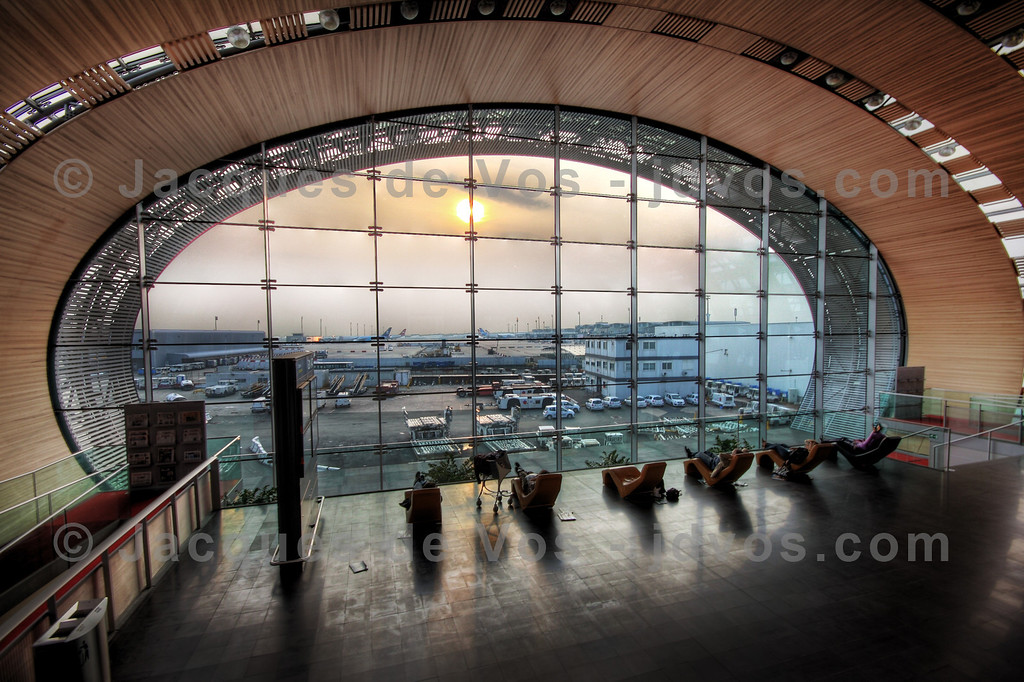 Paris Charles De Gaulle Airport<br /> <br /> Waiting area