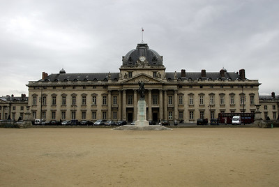 "Ecole Militaire - the Military School  In 1750, the financer Pâris-Duverney supported by the king's mistress, the Marquise de Pompadour, proposed to Louis XV to build a military academy dedicated to the training of 500 cadets with humble origins. The architect Jacques Ange Gabriel built the Ecole Militaire - the Military School - in the years between 1751-1768, in the fields of Grenelle. In 1777 the Academy became ""l' Ecole des Cadets Gentilhommes"". Young Napoleon Bonaparte was a cadet in 1784. The Ecole Militaire hosts now the Inter-Army College."