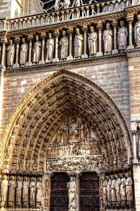 Entry to Notre Dame