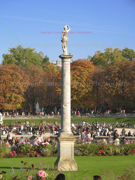 Luxembourg Gardens<br /> Paris, France
