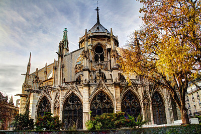 Exterior of Notre Dame