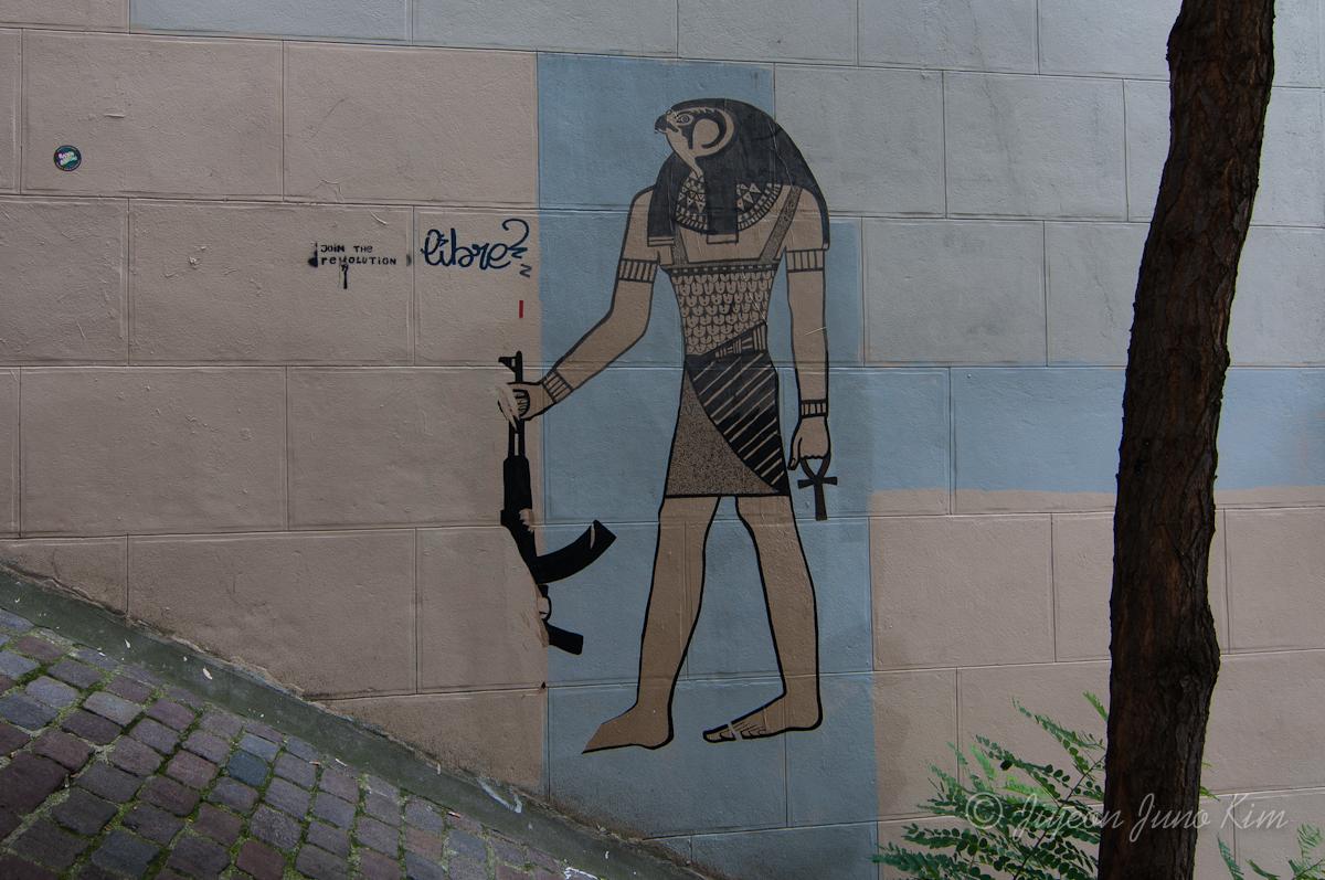 Street art of Paris