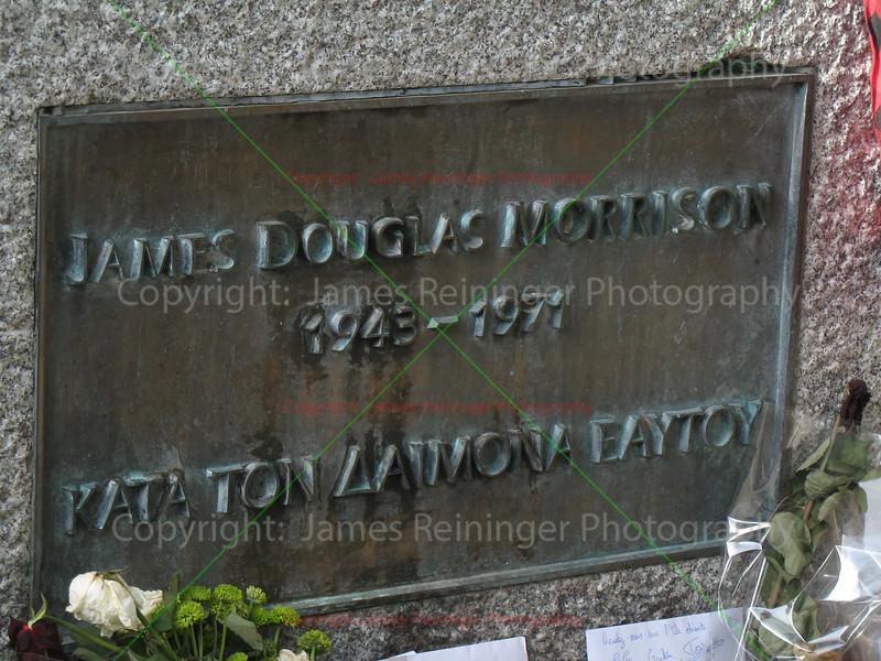 Jim Morrison's Grave Site