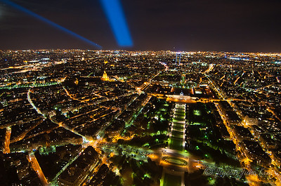 View from the Eiffel Tower