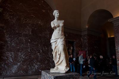Venus de Milo at Musee du Louvre