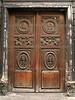 Decorated Door<br /> Paris, France
