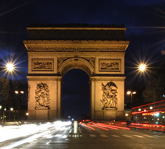 Arc de Triomphe Commissioned by Napoleon to commemorate the victories of his Grand Armée after the battle of Austerlitz, this triumphal arch is a world-famous landmark. From the roof there are magnificent views of Paris and inside the Arch there is a small museum documenting its history and construction.