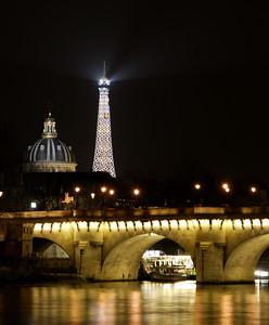 Eiffel Tower and Basilica