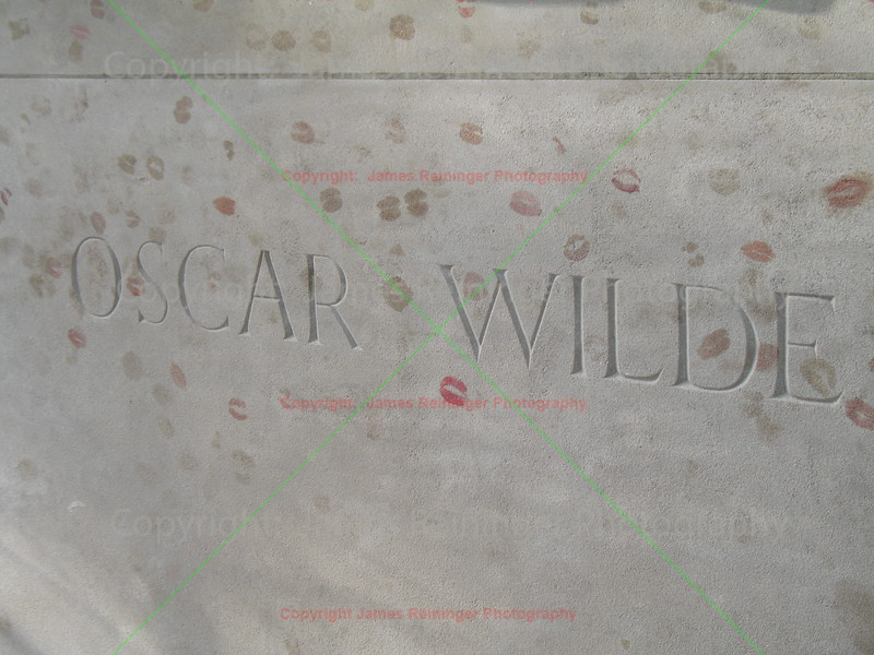 Oscar Wilde's Grave Site<br /> Paris, France