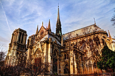 The South Facade of Notre Dame