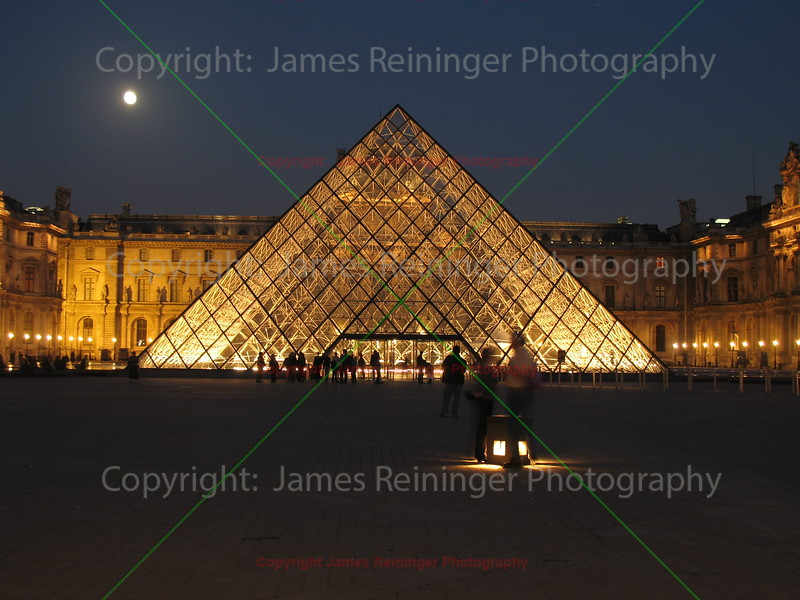 Louvre Pyramid<br /> Paris, France