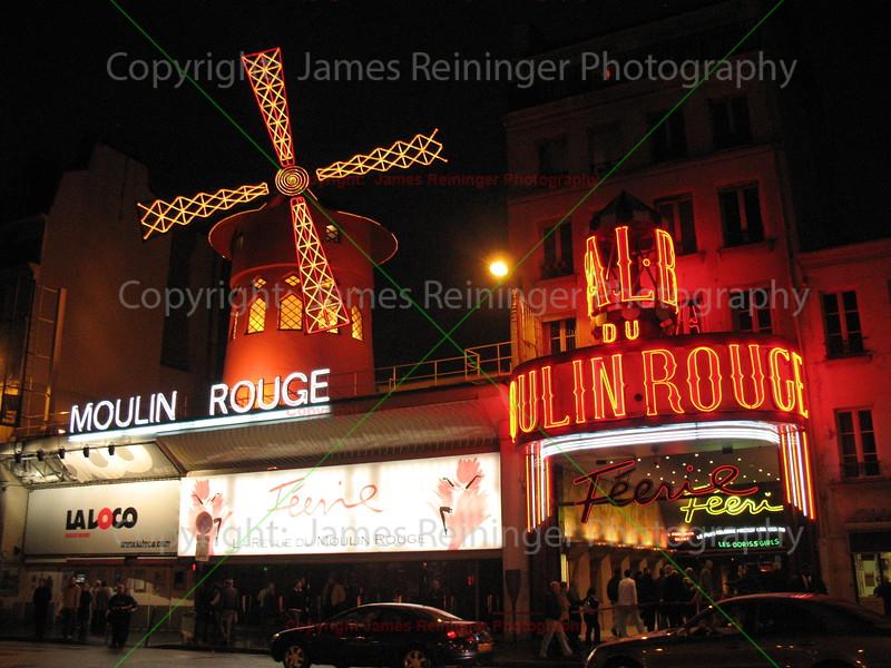 Moulin Rouge<br /> Paris, France