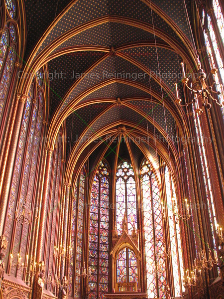 Sainte Chapelle<br /> Paris, France