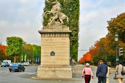 Chevaux de Marly statue.