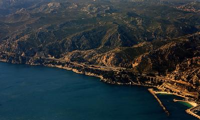 Coast west of Marseille