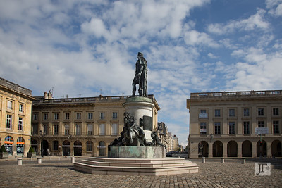 Statue of King Louis XV, Place Royale