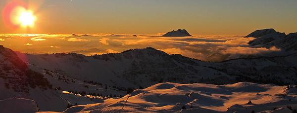 Skiing in Portes du Soleil
