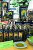 Arles, France - Street Scene Outside, Public Farmers Market on Boulevard des Lices, Saturday, Detail Local Products for Sale, Olive Oil