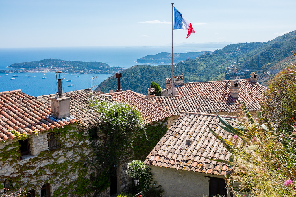 Eze Village, Côte d'Azur, French Riviera, France, Europe