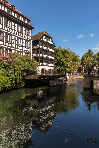 Half timbered houses in 'Petite France' area