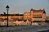060 Chateau, Amboise, Sunset