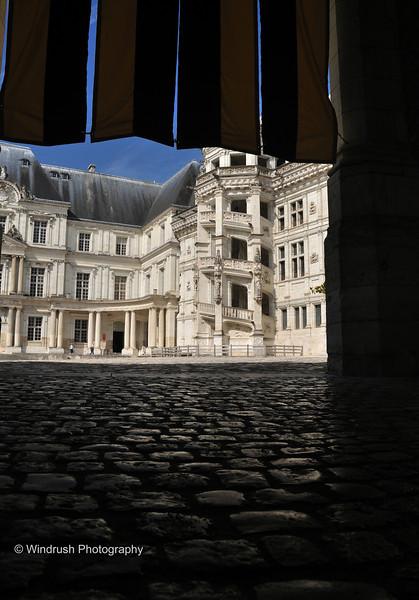 096 Courtyard, Chateau, Blois