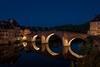Old Bridge, Night, Espalion