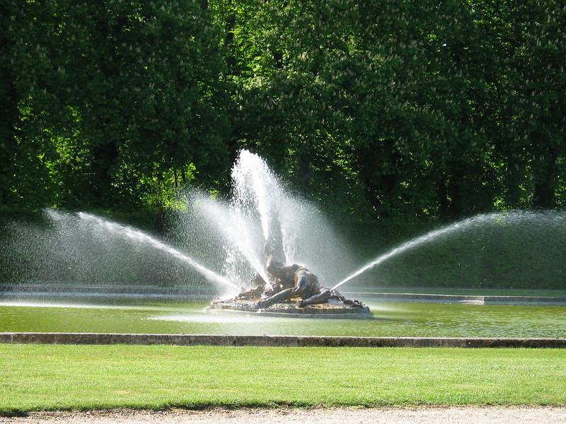 Original 17th Century fountains
