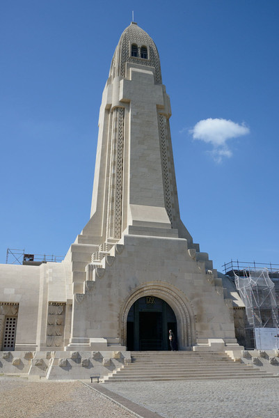 The Douaumont ossuary from the west.